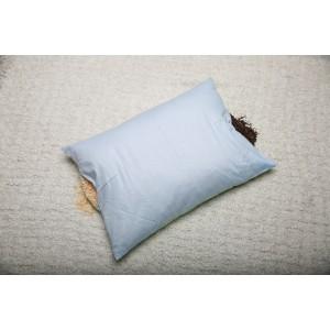 Подушка двухсторонняя с лузгой гречихи и хвойными опилками, 40*60