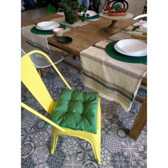 Сидушка на стул с лузгой гречихи, 40*40