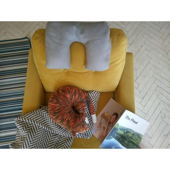 Дорожная подушка, 34*26 см