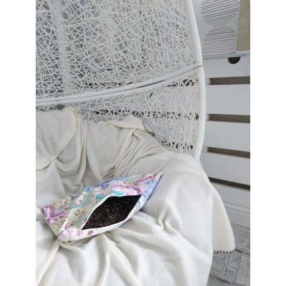 Подушка с лузгой гречихи, 40*40
