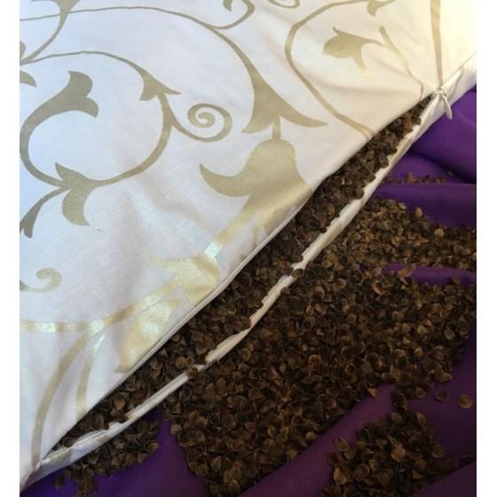 Подушка с лузгой гречихи, 50*70