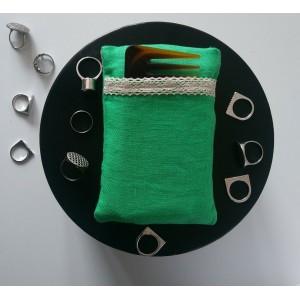 Саше-органайзер с пижмой и полынью 14*9 см